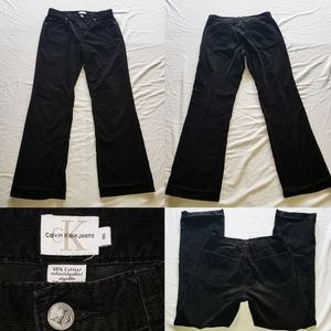Vintage Calvin Klein CK Corduroy pants High Waiste